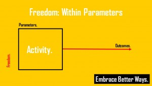 Freedom Within Parameters